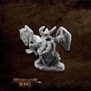 King Axehelm Of Kragmarr - Miniatura RPG