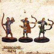Kit Aventureiros G - Miniatura RPG