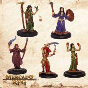 Kit Aventureiros I - Miniatura RPG
