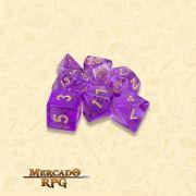Kit Completo de Dados RPG - Ambrosia