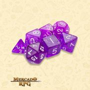 Kit Completo de Dados RPG - Arcane Aura