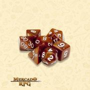 Kit Completo de Dados RPG - Copper Sands