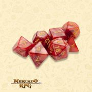 Kit Completo de Dados RPG - Dragon Scales