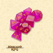 Kit Completo de Dados RPG - Faerie Fire
