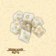 Kit Completo de Dados RPG - Forbidden Treasure