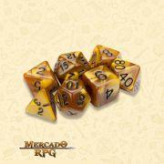 Kit Completo de Dados RPG - Mountainheart
