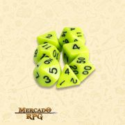 Kit Completo de Dados RPG - Stick Ichor