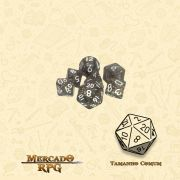 Kit Completo de Mini Dados RPG - Enchanted Powder