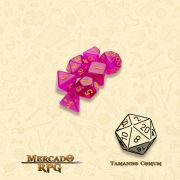 Kit Completo de Mini Dados RPG - Faerie Fire