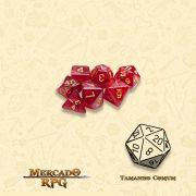 Kit Completo de Mini Dados RPG - Philosopher Stone