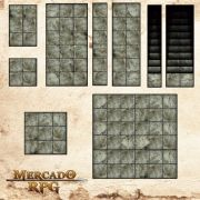 Kit Grid Modular em Tecido