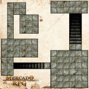 Kit Grid Riscável Modular - RPG Battle Grid D&D