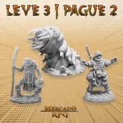 KIT PROMOCIONAL S - LEVE 3 PAGUE 2 - Miniatura RPG