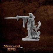 Kristianna, Crusaders Warlord - Miniatura RPG