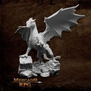 Kyphrixis, The Copper Dragon - Miniatura RPG