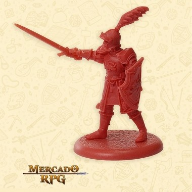 Lannister Guard Captain - Miniatura RPG