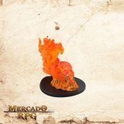 Large Fire Elemental - Com carta