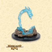 Living Spell Lightning Bolt- Miniatura RPG