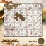 Masmorra 55x55 - RPG Battle Grid D&D