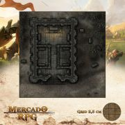 Mausoléu da meia noite 50x50 - RPG Battle Grid D&D