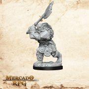 Orc Leader A - Miniatura RPG