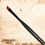 Pincel para Drybrush Keramik 363 Mini Chanfrado 6mm - RPG