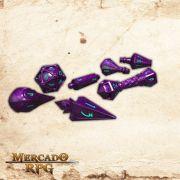 PolyHero Dice -  Wizardstone with Mystic Runes
