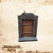 Porta de madeira Menor