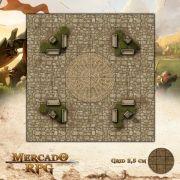 Praça da Mandala25x25 - RPG Battle Grid D&D