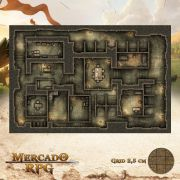 Prisão do Resgate 50x75 - RPG Battle Grid D&D