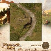 Rota da Grande Rocha25x30 - RPG Battle Grid D&D