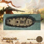 Senhora da Maré Profunda Externa 20x50 - RPG Battle Grid D&D