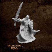 Sir Malcolm, Templar Lightbringer - Miniatura RPG