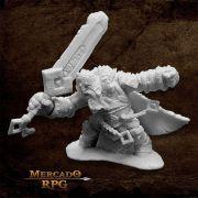 Skorg Ironskull, Fire Giant King - Miniatura RPG