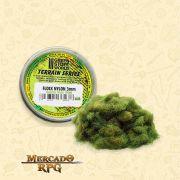 Static Grass Flock 3 mm - Realistic Green - 180 ml - RPG