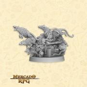 Swarm of Ratz A - Miniatura RPG