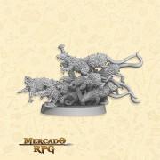 Swarm of Ratz B - Miniatura RPG
