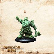 Tauthur, Martelo Trovão (Sem pintura) - Miniatura RPG