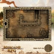 Taverna 25x17,5 - RPG Battle Grid D&D