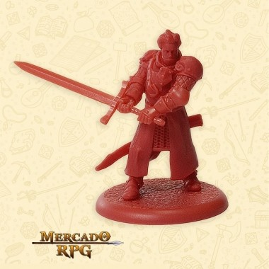 The Mountain's Soldier C  - Miniatura RPG