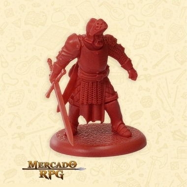The Mountain's Soldier D  - Miniatura RPG