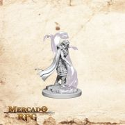 Tiefling Female Sorcerer B - Miniatura RPG