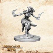 Tiefling Female Warlock B - Miniatura RPG