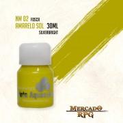 Tinta Aquacolor - Amarelo Sol - RPG