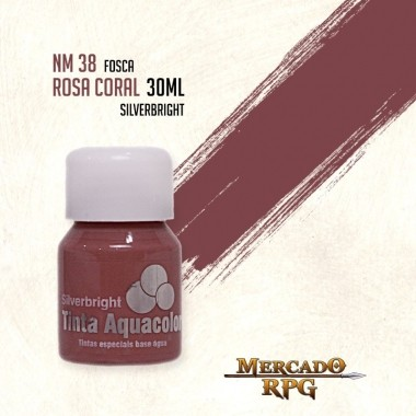 Tinta Aquacolor - Rosa Coral - RPG