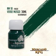 Tinta Aquacolor - Verde Musgo - RPG