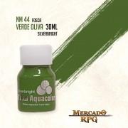 Tinta Aquacolor - Verde Oliva - RPG