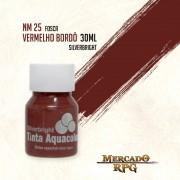 Tinta Aquacolor - Vermelho Bordô - RPG