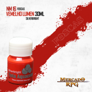 Tinta Aquacolor - Vermelho Lumen - RPG
