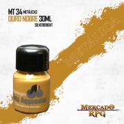 Tinta Metálica - Ouro Nobre - RPG
